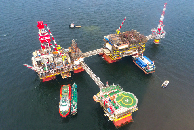 """Caspian Energy"" Group completed construction and commissioning of LSP-1 Riser Block."