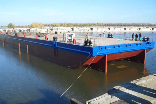"Flat top barges (""Lotos"" shipyard)"