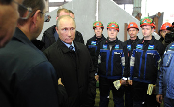 The President of Russia visited Astrakhan Shipbuilding Production Association (ASPO).